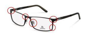 Rodenstock reparation briller