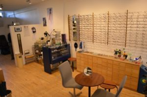 Bachs Briller butik interioer